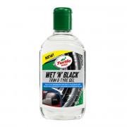 Гель-очиститель для пластика и шин (чернитель резины) Turtle Wax Wet `N` Black Trim & Tire Gel 53165 (300мл)