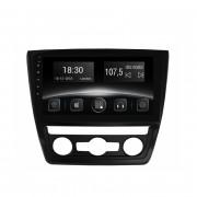 Штатная магнитола Gazer CM6510-5LA для Skoda Yeti (5L) auto conditioner 2009-2013 (Android 8.0)