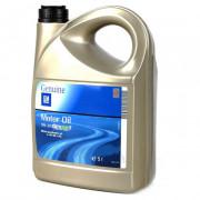 Синтетическое оригинальное моторное масло GM Dexos1 5w-30 (95599919, 95599877)