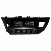 Штатная магнитола Gazer CM6510-E150 для Toyota Corolla (E150) 2013+ (Android 8.0)