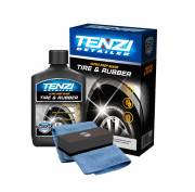 Nano-молочко (чернитель) для восстановления, консервации и защиты резины и пластика Tenzi Tire & Rubber (300мл)