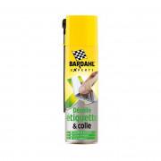 Средство для удаления наклеек, этикеток, остатков клея, пятен и отложений Bardahl Decolle Etiquette (44662) 250мл