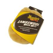 Рукавица из натуральной овечьей шерсти для мойки автомобиля Meguiar's A7301 Lambs Wool Wash Mitt (18х28см)