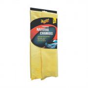 Ультравпитывающее полотенце из натуральной замши Meguiars X2100 Premium Natural Chamois (16x2x25см)