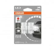 Комплект светодиодов Osram LEDriving SL 7716R-02B (W21/5W)