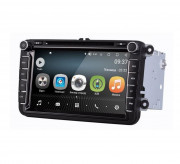 Штатная магнитола AudioSources T100-810A для Skoda Fabia, Roomster, Spaceback, Octavia A5, Rapid, SuperB 2008-2015, Yeti (Android 8)