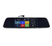 Зеркало заднего вида Phisung V300 с видеорегистратором, монитором, камерой с подсветкой, Wi-Fi, 3G, Bluetooth, GPS (Android 5.0)