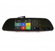 Зеркало заднего вида Phisung H3 с видеорегистратором, монитором, камерой с подсветкой, Wi-Fi, 3G, Bluetooth, GPS (Android 5.0)