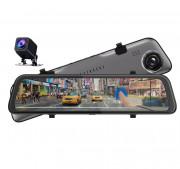 Зеркало заднего вида Phisung S11 2K Night с видеорегистратором, монитором, камерой и режимом `ночная съемка`