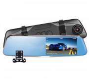 Зеркало заднего вида Phisung T28 Night с видеорегистратором, камерой с подсветкой, монитором и режимом `ночная съемка`