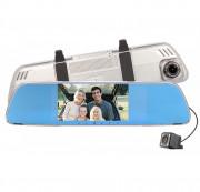 Зеркало заднего вида Phisung V25 с видеорегистратором, монитором и камерой заднего вида с подсветкой