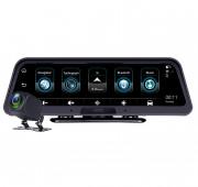 Автомобильный видеорегистратор на торпедо Phisung E98 с монитором, камерой, Wi-Fi, 4G / 3G, Bluetooth, GPS (Android 5.1)
