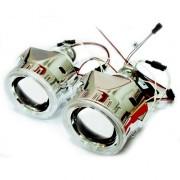 Би-ксеноновые линзы Infolight G5 с ангельскими глазками H1