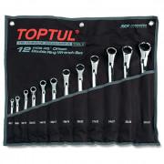 Набор накидных ключей 6-32мм (угол 45°) Toptul GAAA1202 (12шт)