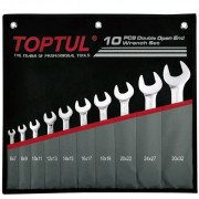 Набор рожковых ключей 6-32мм Toptul GPCJ1001 (10шт)