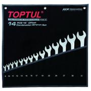 Набор ключей комбинированных 8-32мм `Hi-Performance` Toptul GPAX1401 (14шт)