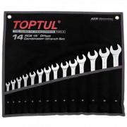 Набор ключей комбинированных 8-24мм `Hi-Performance` Toptul GPAX1402 (14шт)