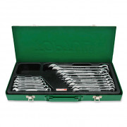 Набор ключей комбинированных 6-24мм `Hi-Performance` (metal box) Toptul GAAD1603 (16шт)