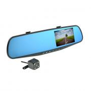 Зеркало заднего вида с монитором, HD видеорегистратором и дополнительной камерой Nextone MR-10
