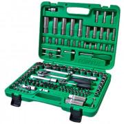 Набор инструмента 1/4'' и 1/2'' с торцевыми 6-гранными головками (new box) Toptul GCAI108R (108шт)