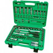 Набор инструмента 1/4'' и 1/2'' с торцевыми 12-гранными головками (new box) Toptul GCAI108R1 (108шт)