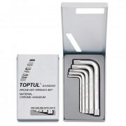 Набор Г-образных ключей Spline М5-М12 Toptul GAAD0501 (5шт)