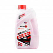 Антифриз Nowax Antifreeze (G12+) -42°C (красного цвета)