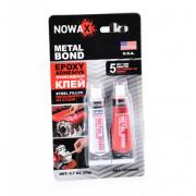 Эпоксидный клей (стальной) Nowax Metal Bond NX48409 (20г)
