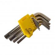 Набор Г-образных ключей НЕХ 1.5-10мм Сталь 48101 (9шт)