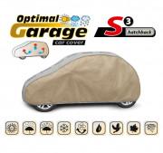 Тент для автомобиля Kegel Optimal Garage S3 Hatchback (серо-бежевый цвет)