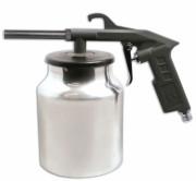 Пескоструйный пневмопистолет с алюминиевым бачком Werk ASB-1010