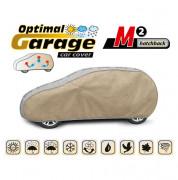 Тент для автомобиля Kegel Optimal Garage M2 Hatchback (серо-бежевый цвет)