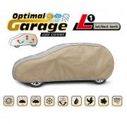 Тент для автомобиля Kegel Optimal Garage L1 Hatchback (серо-бежевый цвет)