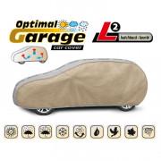 Тент для автомобиля Kegel Optimal Garage L2 Hatchback (серо-бежевый цвет)