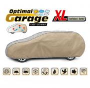 Тент для автомобиля Kegel Optimal Garage XL Hatchback (серо-бежевый цвет)