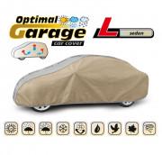 Тент для автомобиля Kegel Optimal Garage L Sedan (серо-бежевый цвет)