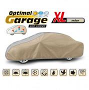 Тент для автомобиля Kegel Optimal Garage XL Sedan (серо-бежевый цвет)