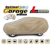 Тент для автомобиля Kegel Optimal Garage L SUV / Off-Road (серо-бежевый цвет)