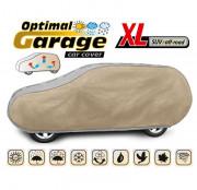 Тент для автомобиля Kegel Optimal Garage XL SUV / Off-Road (серо-бежевый цвет)