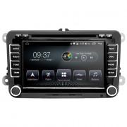 Штатная магнитола AudioSources T200-610SR DSP для Volkswagen Universal (Android 10)