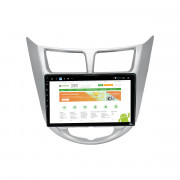 Штатная магнитола RedPower 51067 R IPS DSP для Hyundai Accent 2011+ (Android 8+)