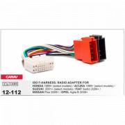 Переходник / адаптер ISO Carav 12-112 для Honda, Suzuki, Acura, Fiat, Opel, Nissan