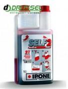 Мотоциклетное моторное масло Ipone Self 2 (1л) 2T