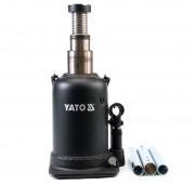 Гидравлический бутылочный (двухштоковый) домкрат Yato YT-1714 (10 т)