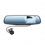 Зеркало заднего вида с монитором, видеорегистратором и камерой заднего вида Swat VDR-4U