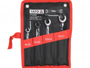 Набор ключей разрезных 8-17мм Yato YT-0143 (4шт)