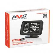 Парктроник AMS A8182in для заднего и переднего бампера с LCD-дисплеем
