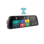 Зеркало заднего вида Cyclone MR-227 AND 3G с монитором, видеорегистратором, Wi-Fi, 3G, Bluetooth, GPS и камерой (Android 5.0)