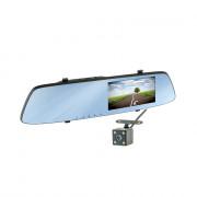 Зеркало заднего вида с монитором, видеорегистратором и камерой заднего вида Cyclone MR-54