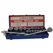 Набор инструмента 3/4'' в металлическом кейсе Стандарт ST-3420 (20шт)